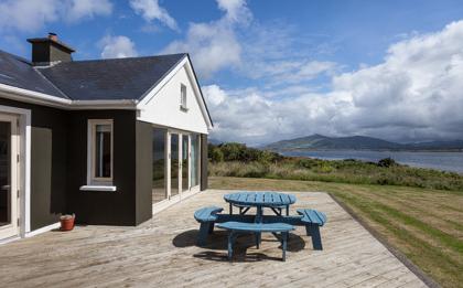 ferienhaus in irland mit meerblick in kerry direkt am wild atlantik way. Black Bedroom Furniture Sets. Home Design Ideas